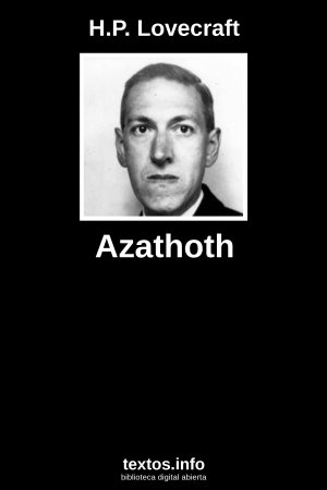 Azathoth, de H.P. Lovecraft