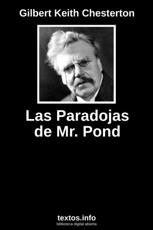Las Paradojas de Mr. Pond, de Gilbert Keith Chesterton