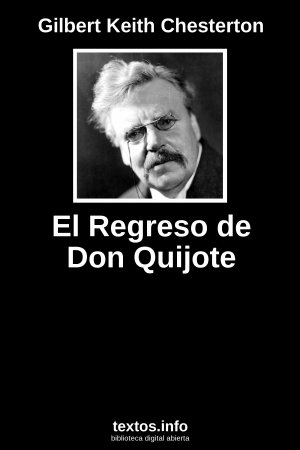 El Regreso de Don Quijote, de Gilbert Keith Chesterton