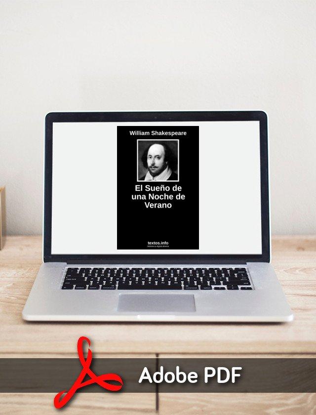 Descargar Pdf El Sueño De Una Noche De Verano De William Textos Info