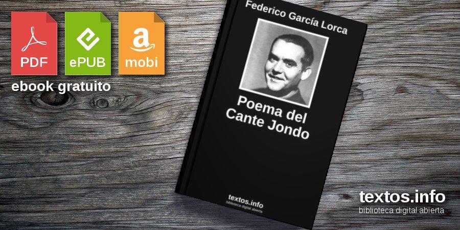 Descargar Pdf Poema Del Cante Jondo De Federico García