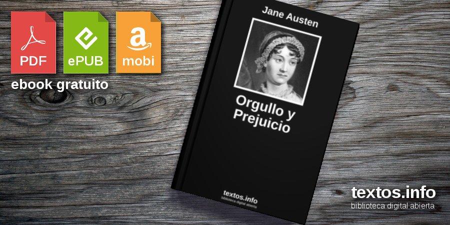 Descargar PDF 'Orgullo y Prejuicio', de Jane Austen - textos.info