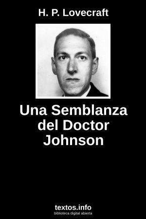 Una Semblanza del Doctor Johnson, de H.P. Lovecraft