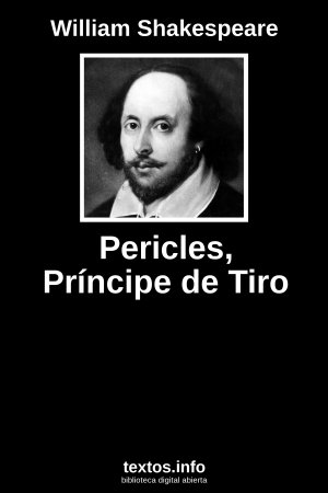Pericles, Príncipe de Tiro, de William Shakespeare