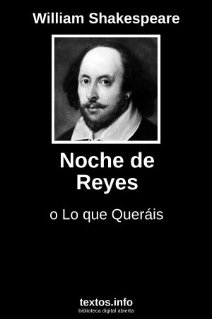 Noche de Reyes, de William Shakespeare